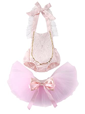c853ddb68fc1 Amazon.com  Exquise fille Newborn Baby Girls Pink Horse Star Pattern ...