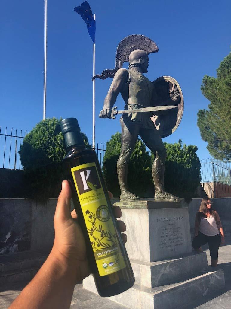 Kasandrinos Organic 2 Pack olive oil 500 ml Bottles by K. KASANDRINOS (Image #3)