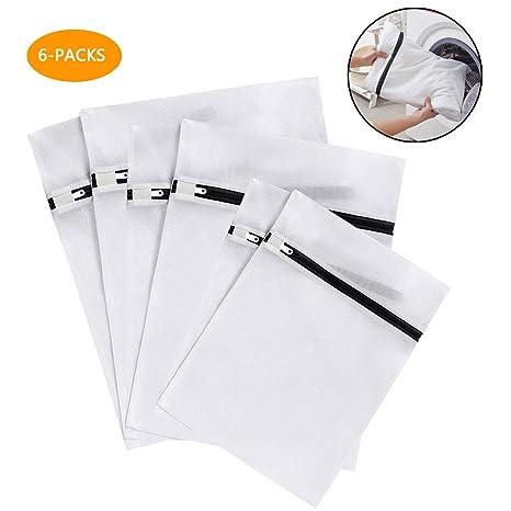 Amazon.com: Mixigoo - 6 bolsas de lavado de malla grandes, 2 ...