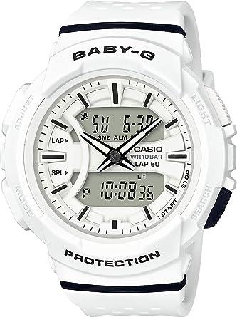 7bdbd87525 Casio Baby-G BGA-240 Two-Tone Series Black White Watch BGA240-1A1