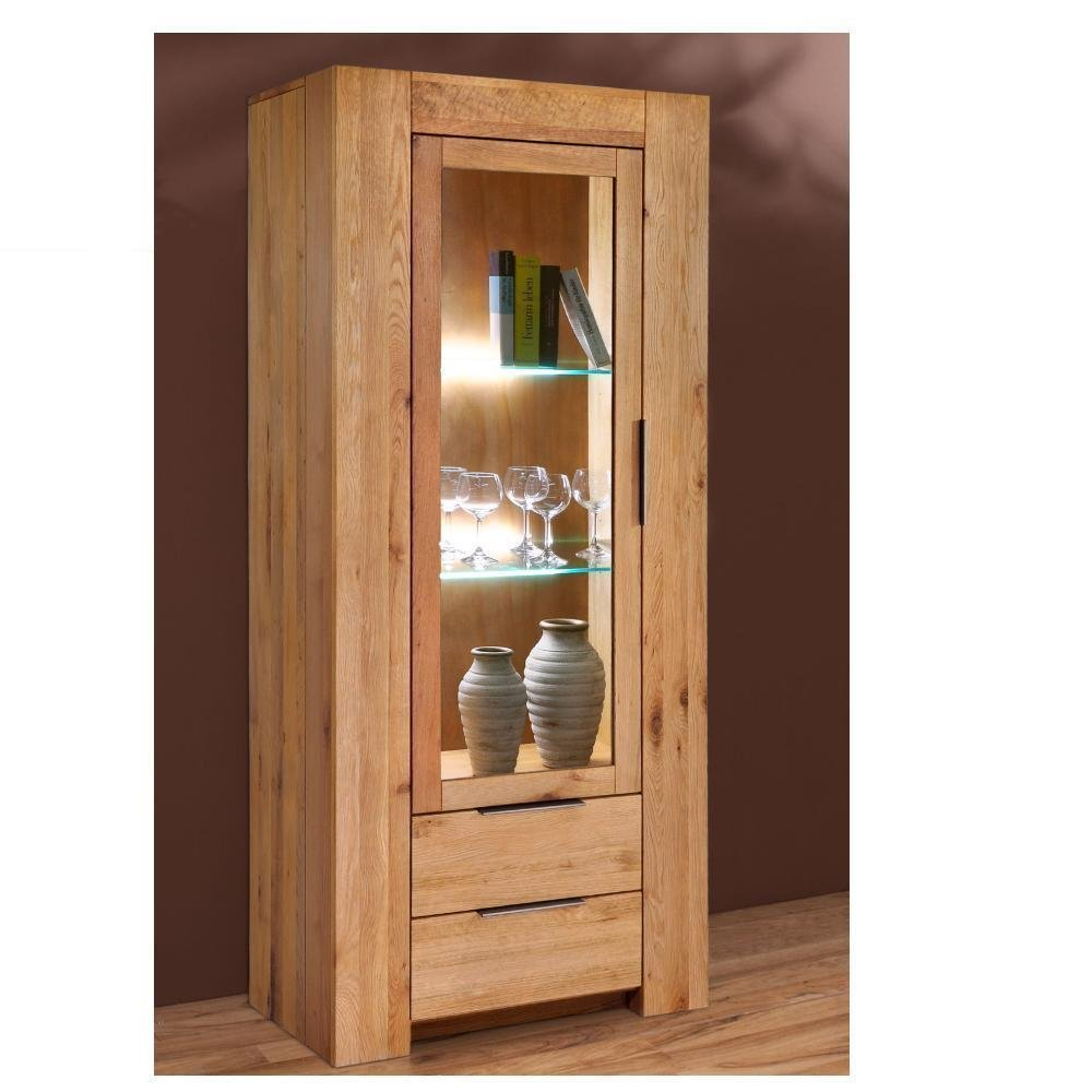 vitrine holz dekorative vitrine aus echtholz buche gelt setzkasten glasvitrine schaukasten. Black Bedroom Furniture Sets. Home Design Ideas