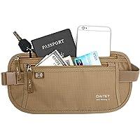 Day Tip Money Belt - Passport Holder Secure Hidden Travel Wallet with RFID Blocking, Undercover Fanny Pack