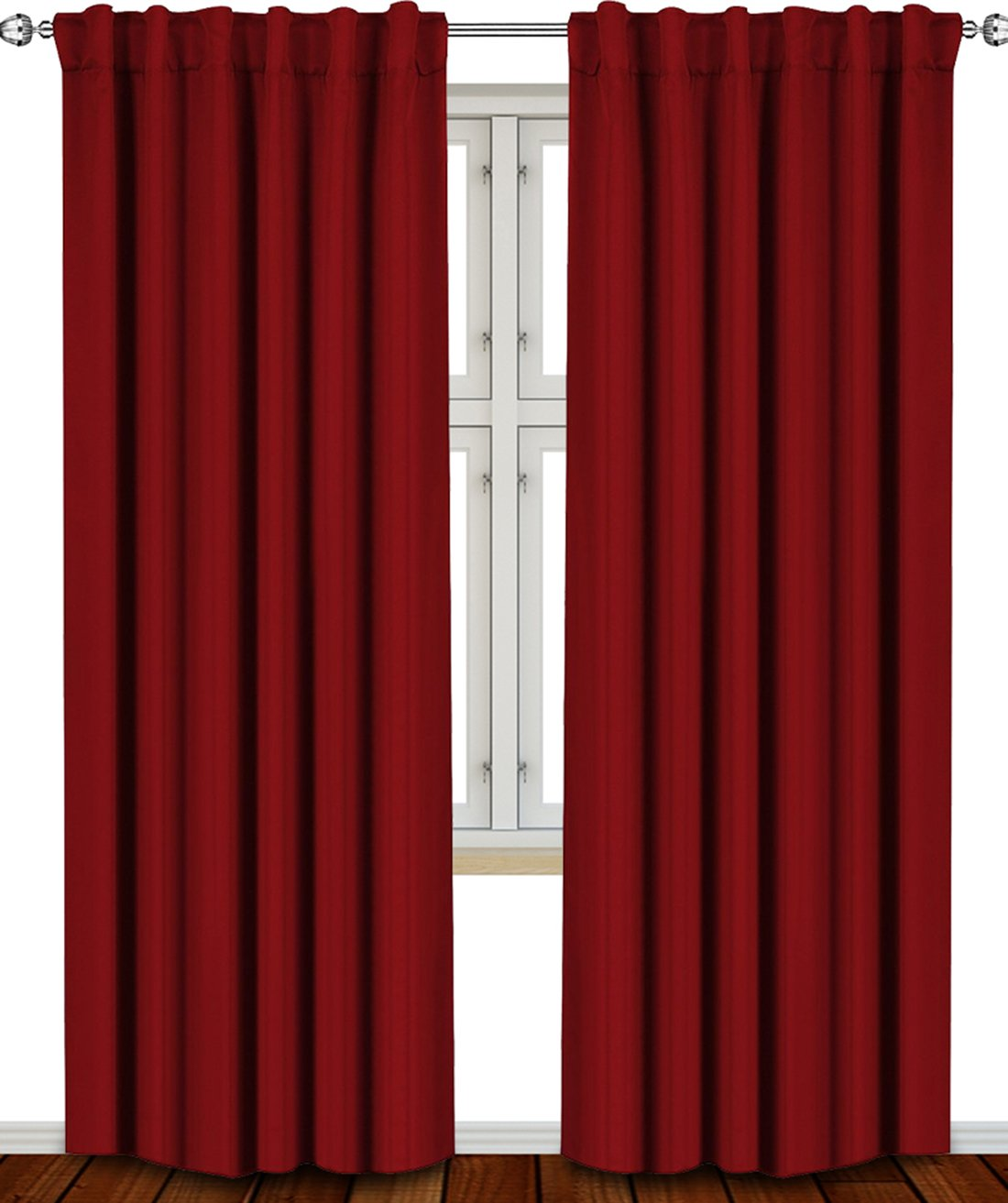 Red Curtains For Living Room Amazon