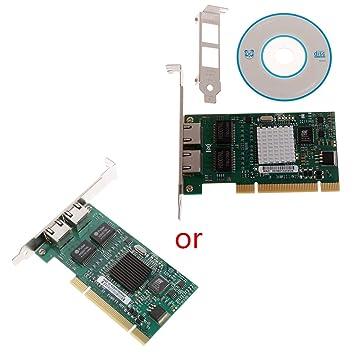 Bogji Tarjeta de Red de 32 bits y Dos Puertos PCI Gigabit ...
