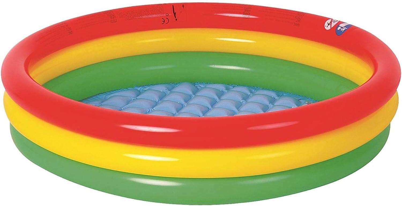 Amazon.com: MS-DARTSHOP Ronda bebé piscina inflable piscina ...