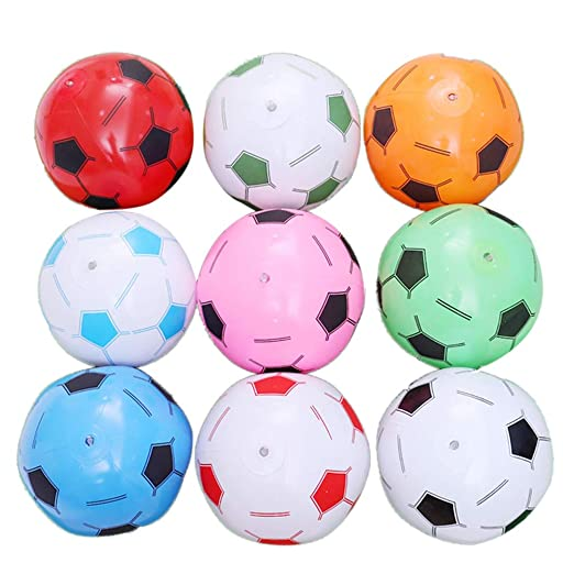 STOBOK - Balón de fútbol Hinchable de 6 Piezas para niños ...