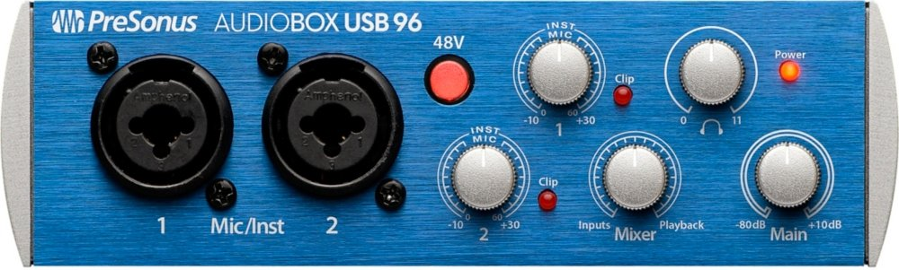 Presonus AudioBox USB 96 - USB Audio-Interface AUDIOBOX96