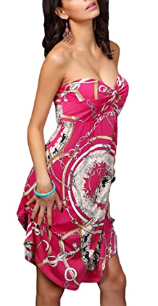 Robe bustier plage grande taille
