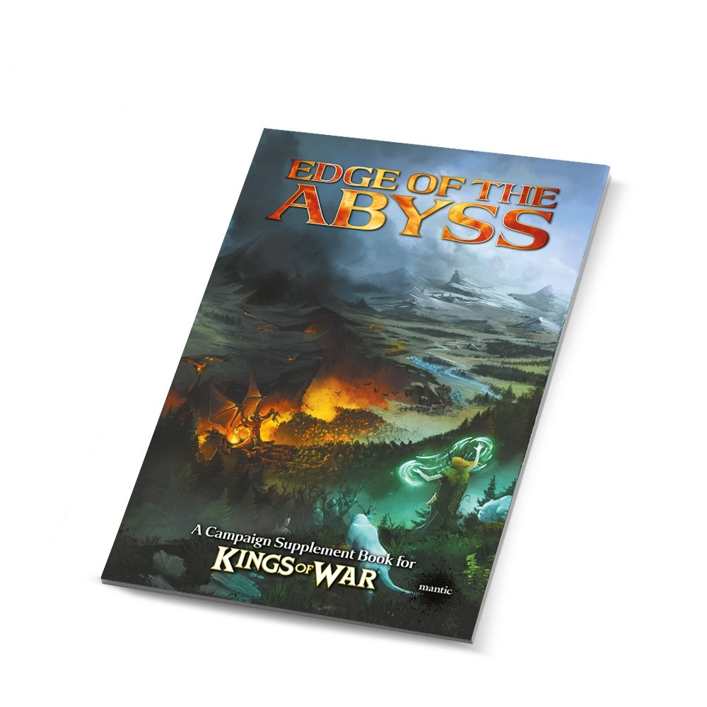 Mantic Games MGKW12 Edge of The Abyss-Summer Campaign Book