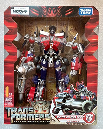 Amazon Com Transformers Rotf Leader Class Buster Optimus Prime Ko