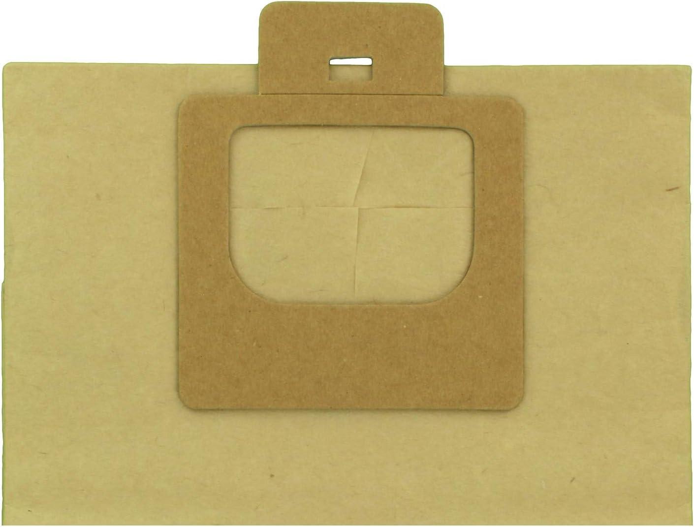 Bidon Paxanpax VB381 Confezione da 5 Powerjet VB381-Sacchetti di Carta compatibili Moulinex A26B01 Super Trio Serie Compact