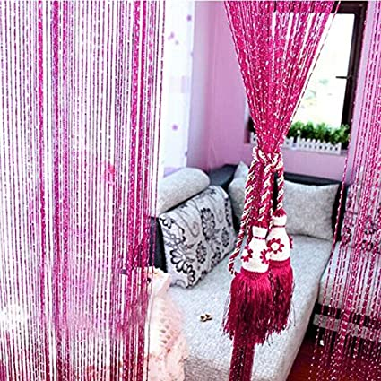 Buy Generic Thread String Curtain Decorative Line Curtains Partition ...
