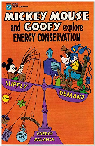 Mickey Mouse   Goofy Explore Energy Conservation  1978
