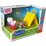 Ensemble de camping Peppa Pig avec 2 figurines