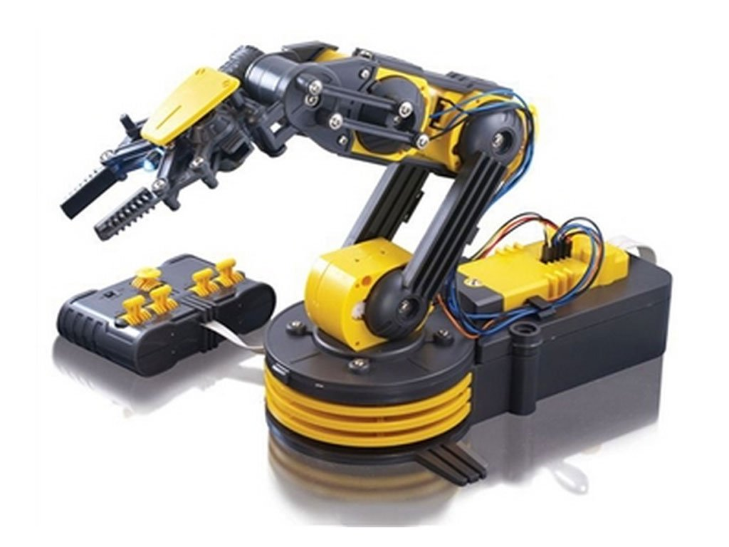 CEBEK Kit Juguete Didactico Educativo Brazo Robotico Con Mando It C