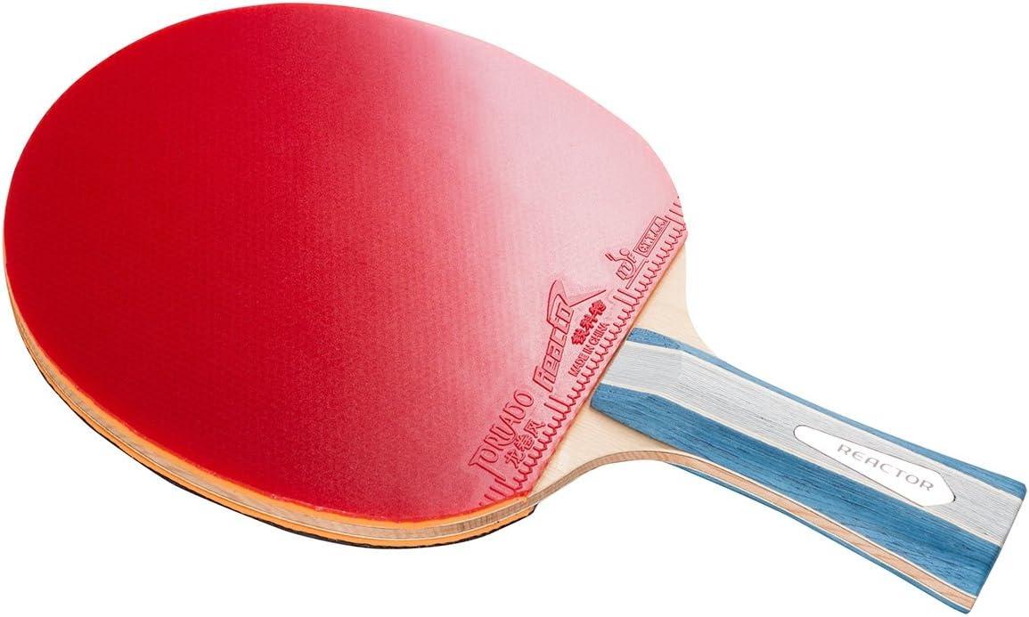 Pala de ping pong | Reactor Tornado | Raqueta de ping pong para exteriores | para competición aprobada por la ITTF