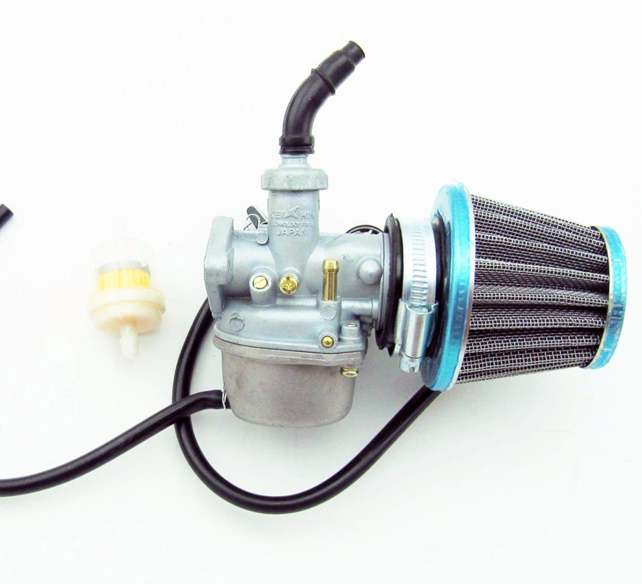 EVINIS ATV Carburetor PZ19 35mm Air Filter for 50cc 70cc 90cc 110cc 125cc ATV Dirt Pit Bike Taotao Honda CRF
