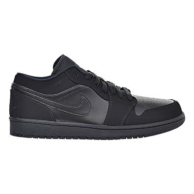 f4d331e113f Jordan Air 1 Low Men's Shoes Black/Black 553558-025 (9.5 D(M) US ...