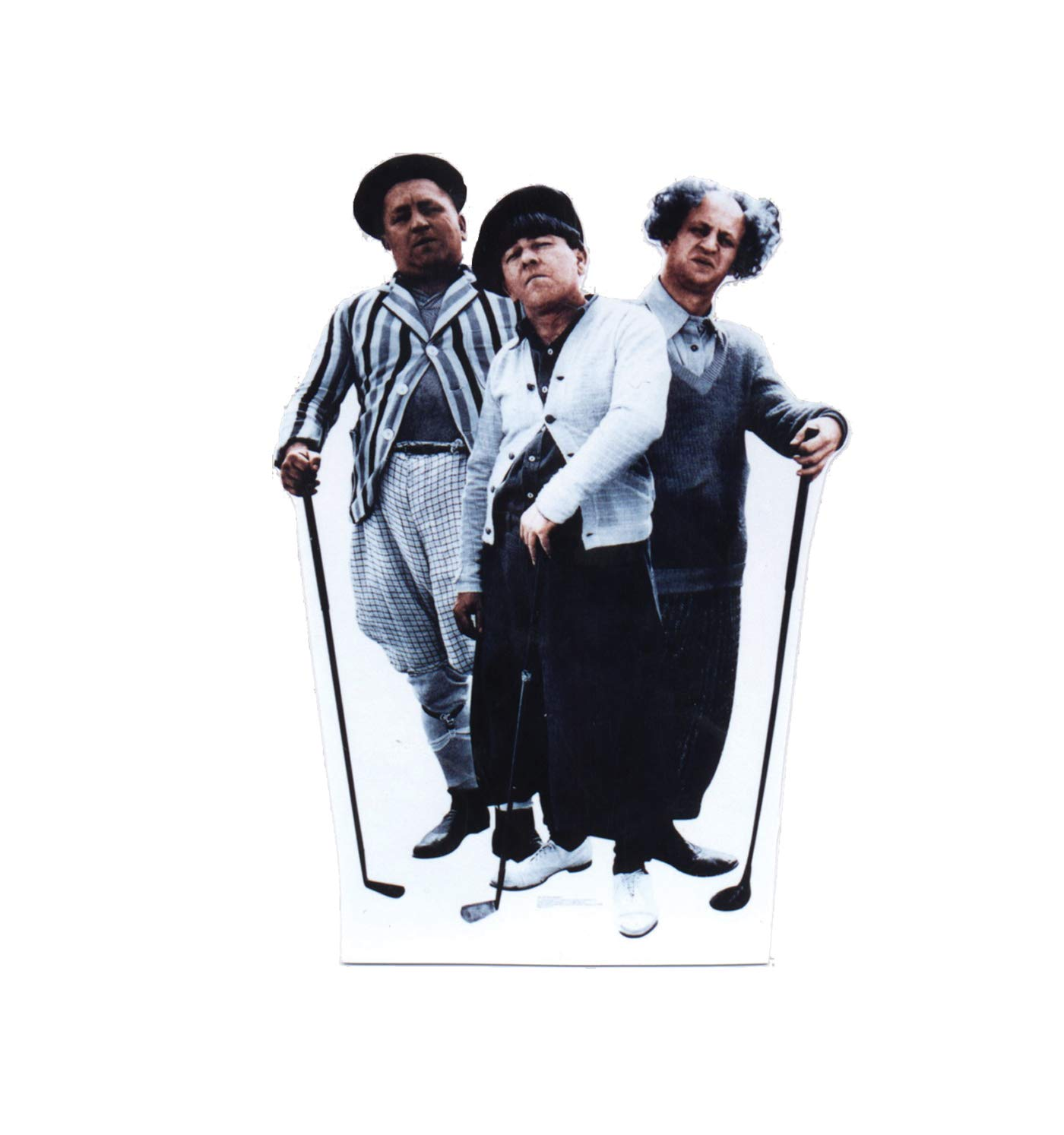 Advanced Graphics The Three Stooges Life Size Cardboard Cutout Standup Cheatem /& Howe 434 Dewey