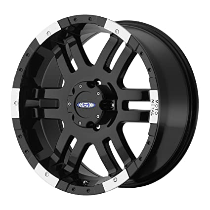 Amazon Com Moto Metal Series Mo951 Gloss Black Machined Wheel 20x9