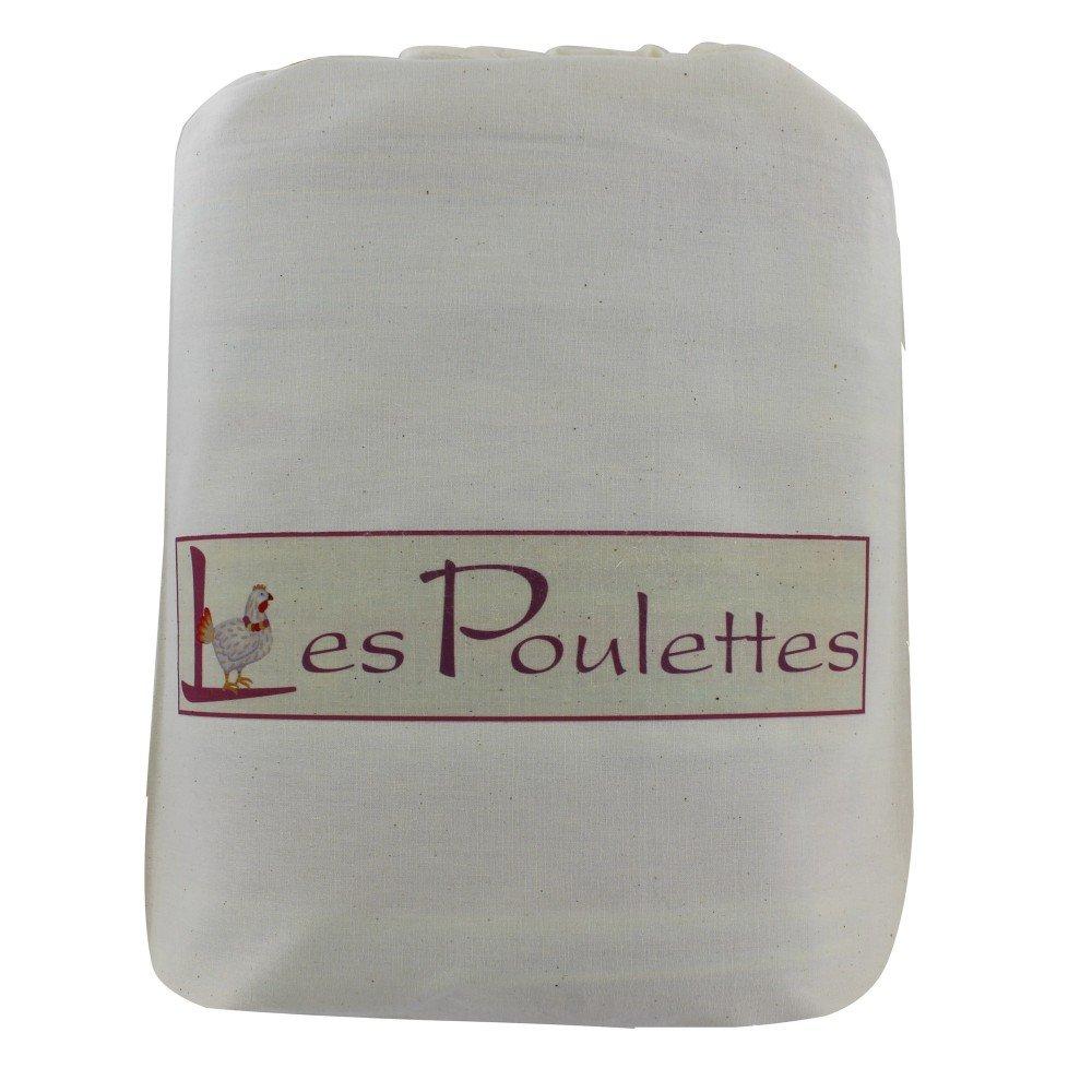 Womens Hat 100% Cashmere 12 Plys Classics - Beige by LES POULETTES (Image #3)