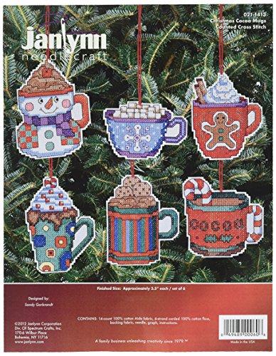 Janlynn Counted Cross Stitch Kit, Coca Mug ()