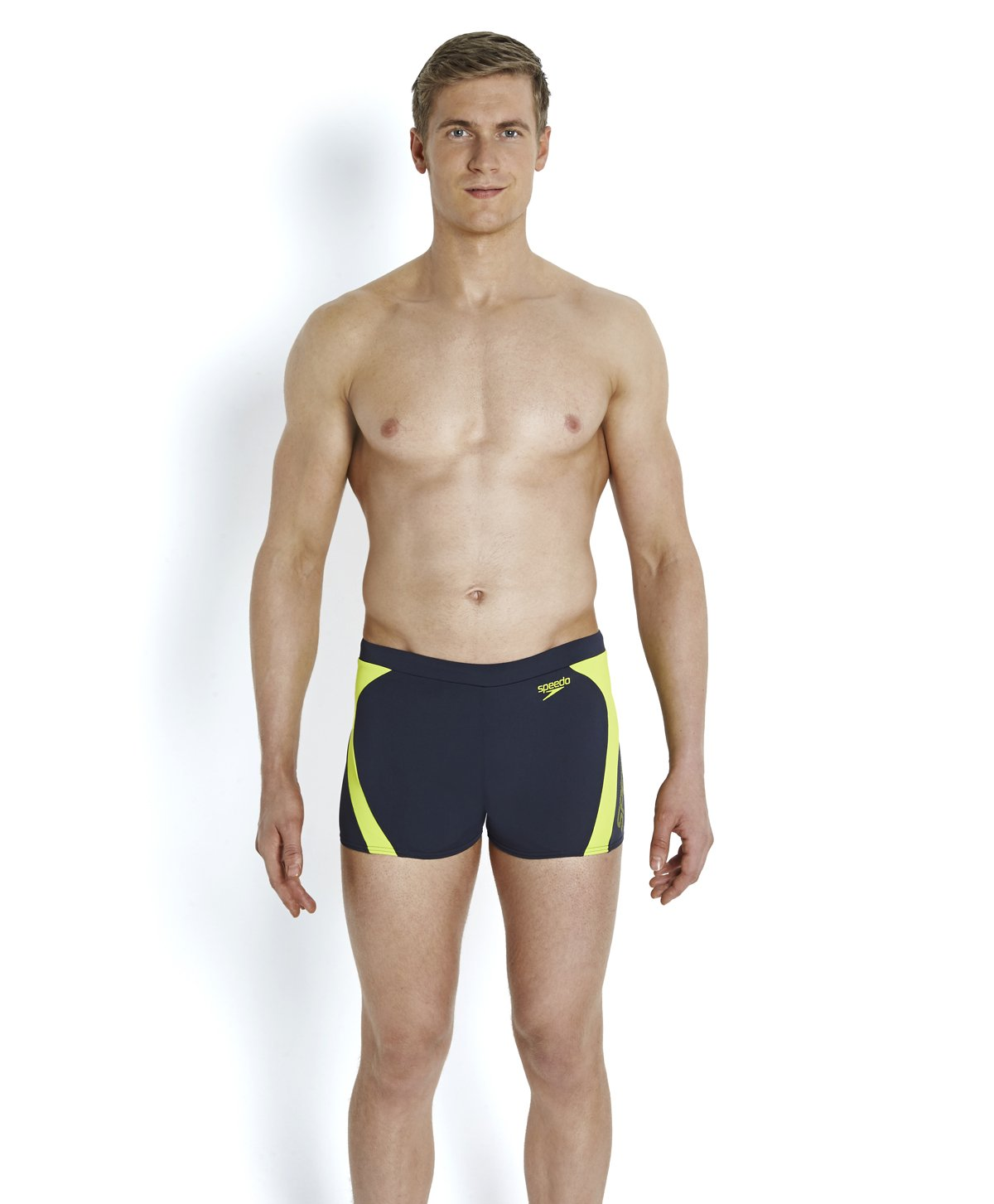 TALLA 32. Speedo Logo Graphic SPL ASHT Am Bañador de baño, Logo Graphic Spl ASHT Am