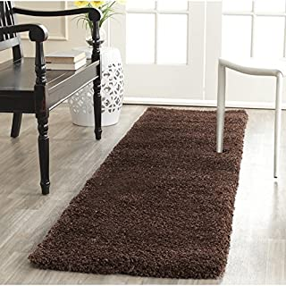 Safavieh Milan Shag Collection SG180-2525 Brown Runner (2' x 8') (B00GGOD04C) | Amazon price tracker / tracking, Amazon price history charts, Amazon price watches, Amazon price drop alerts