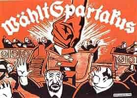 Vintage alemán entreguerras Propaganda Comunista varios ...
