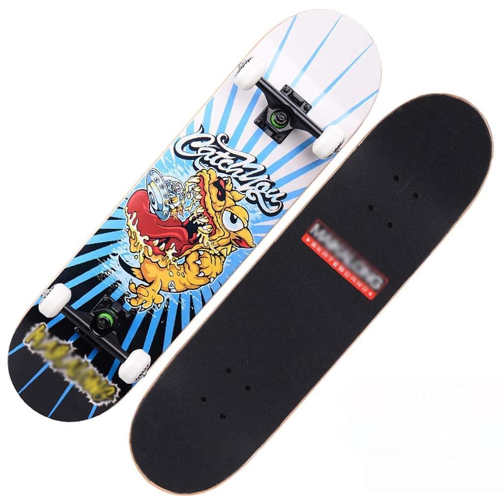 最新エルメス DUWEN : スケートボードの十代の若者たちプロ四輪スケートボード子供大人男性と女性ダブルロッカースケートボードメープルスクーター (色 : B) B) B07PG6TLW7 (色 D D, 海鮮かに処:a6f6fc7b --- quiltersinfo.yarnslave.com