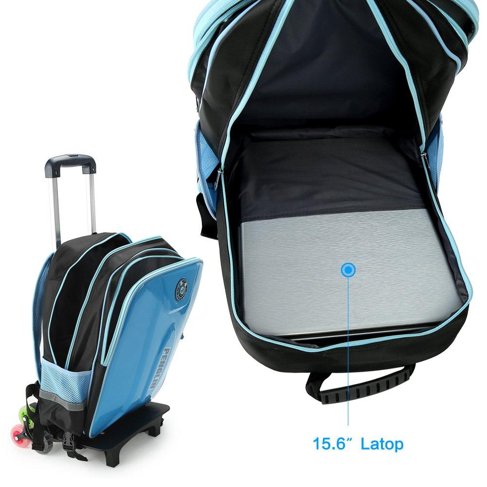 b79d8cc33c PENGLIN, Valigia per bambini blu Dark Blue [1540894822-78394] - €35.86
