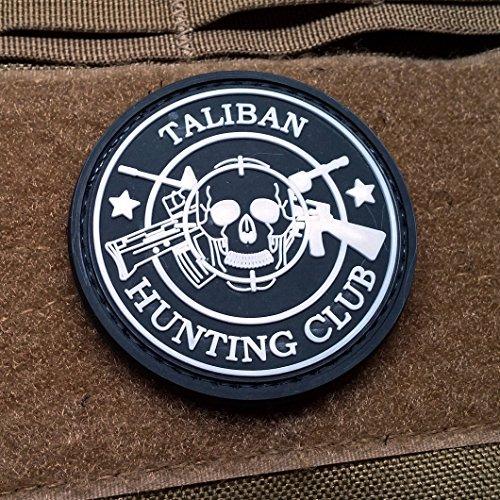 Taliban Hunting Club PVC Morale Patch SWAT