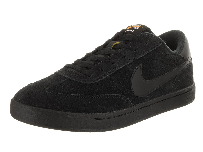 Nike , Herren Skateboardschuhe schwarz Black/Black-White  38.5 EU D(M)