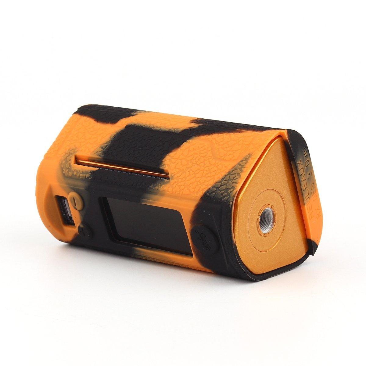 Schwarz-Gr/ün CEOKS f/ür Wismec RX Gen3 Dual 230w H/ülle RutschfestSch/ützende Silikon-H/ülle-Abdeckungs-Verpackungs-Haut f/ür Wismec RX Gen3 Dual 230w Segeln Skin /Ärmel Case Cover