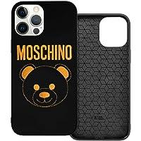 N / A Moschino Logo Handyh¨¹lle iPhone 12 PC Material Unisex para proteger la pers?nlichkeit del teléfono móvil a prueba…