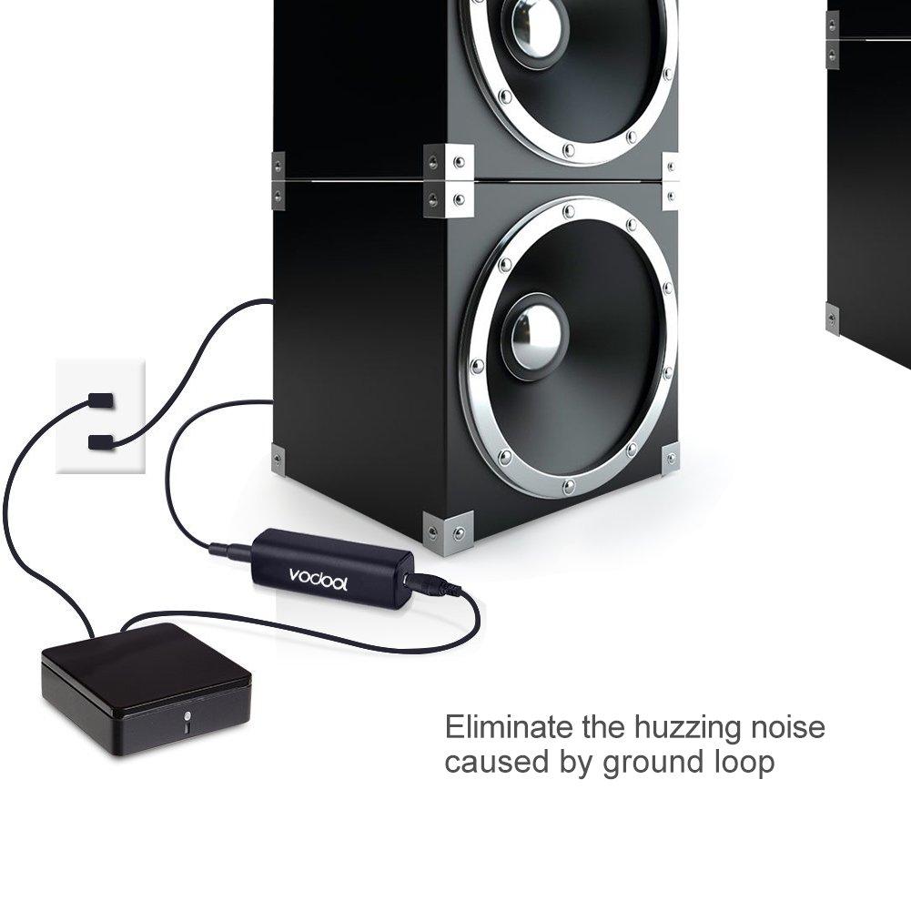 Vodool G03 Ground Loop Noise Isolator Audio Anti