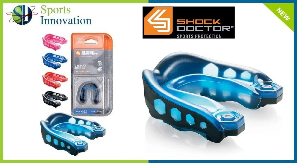 Athletic Specialties Youth Shock Doctor Gel Max Mouth Guard (Strapless) by Shock Doctor