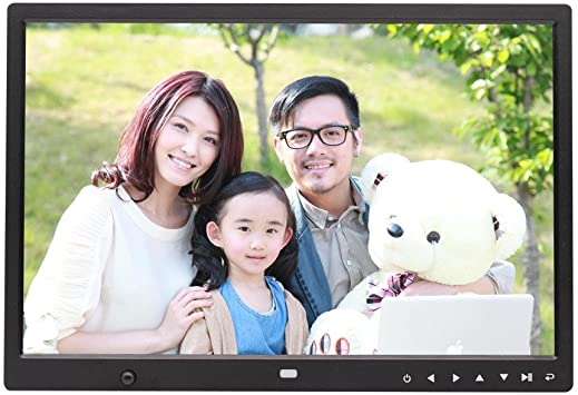InKach 10 inch Digital Photo Frames High-Definition Widescreen Electronic Digital Picture Frames Ultra-Thin LED HD Display Screen