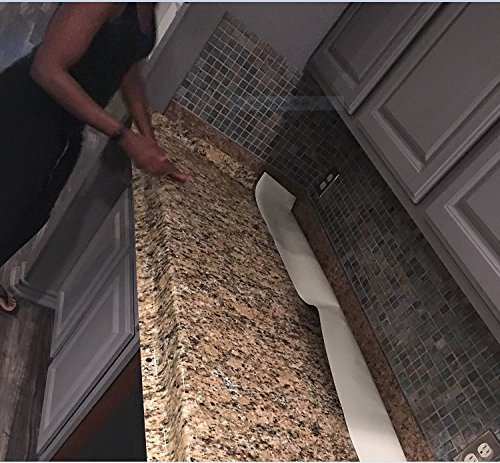 Granite Look Gold Counter Top Cover Peel And Stick Film 36