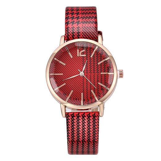 POJIETT Diseños de Relojes Mujer de Moda Casual Reloj Pulsera Mujer Reloj Analógico de Cuarzo de Señora Chicas Joyas Regalos Wrist Watch for Women Girl: ...