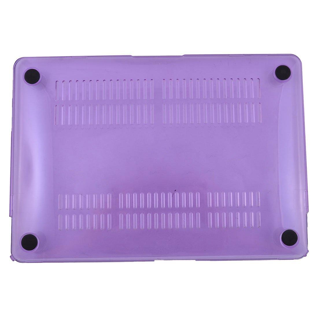 Amazon.com: eDealMax de Cristal de plástico Duro caso cubierta de Shell púrpura Para Apple MacBook 12 pulgadas Retina: Electronics