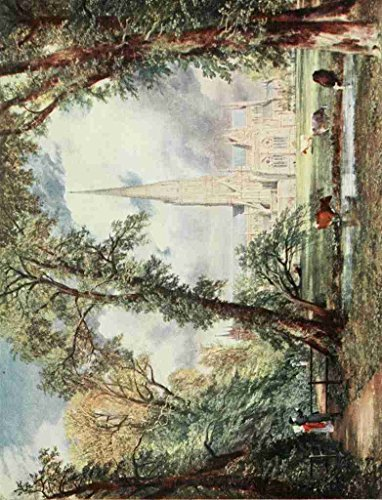 ohn 1776 1837 Constable 1909 Salisbury Cathedral Print Poster by Libby's Emporium (1837 Print)