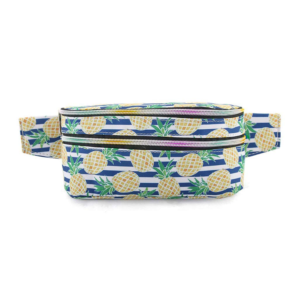 chenpaif Bolso de cinturón de Cintura de Moda para Mujer