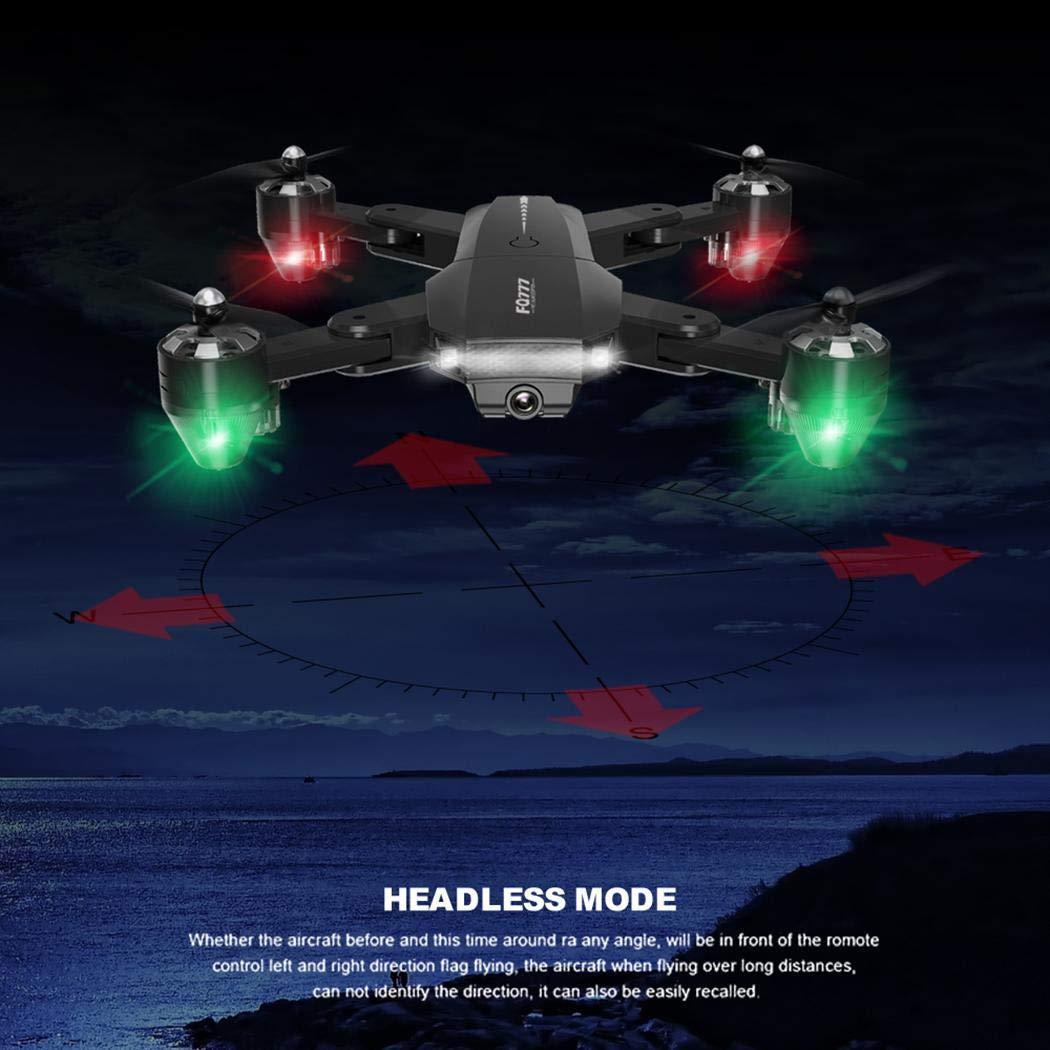 Anstsy FQ35 Drone Pieghevole Quadcopter Aereo Mini Giocattolo di Controllo remoto Aerei Aerei