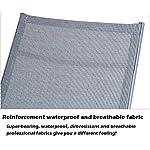 FGDSA-Lettini-Prendisole-Sedia-Pieghevole-reclinabile-Regolabile-Resistente-Resistente-per-Piscina-Coperta-da-Giardino-allaperto-Supporto-200-kg-Colore-Grigio-Dimensioni-Senza-Cuscino