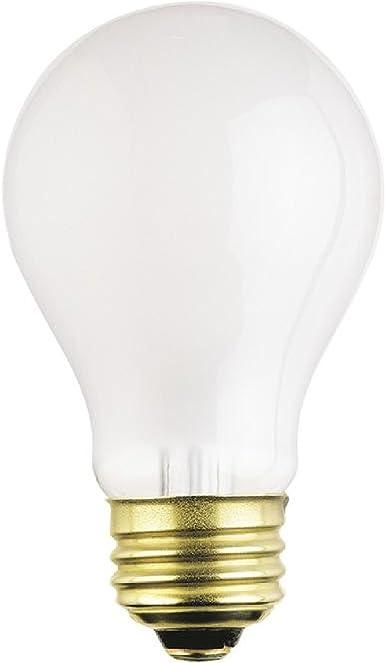12 Volts Frosted Long Life Box of 6 Rough Service Bulbs A19 75 Watt