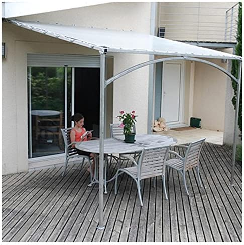 Provence Outillage-Pérgola de pared Mistral 3mx3m: Amazon.es ...
