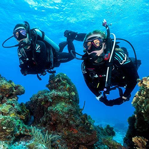 TUSA SP-0101 Hyperdry Elite II Scuba Diving Snorkel