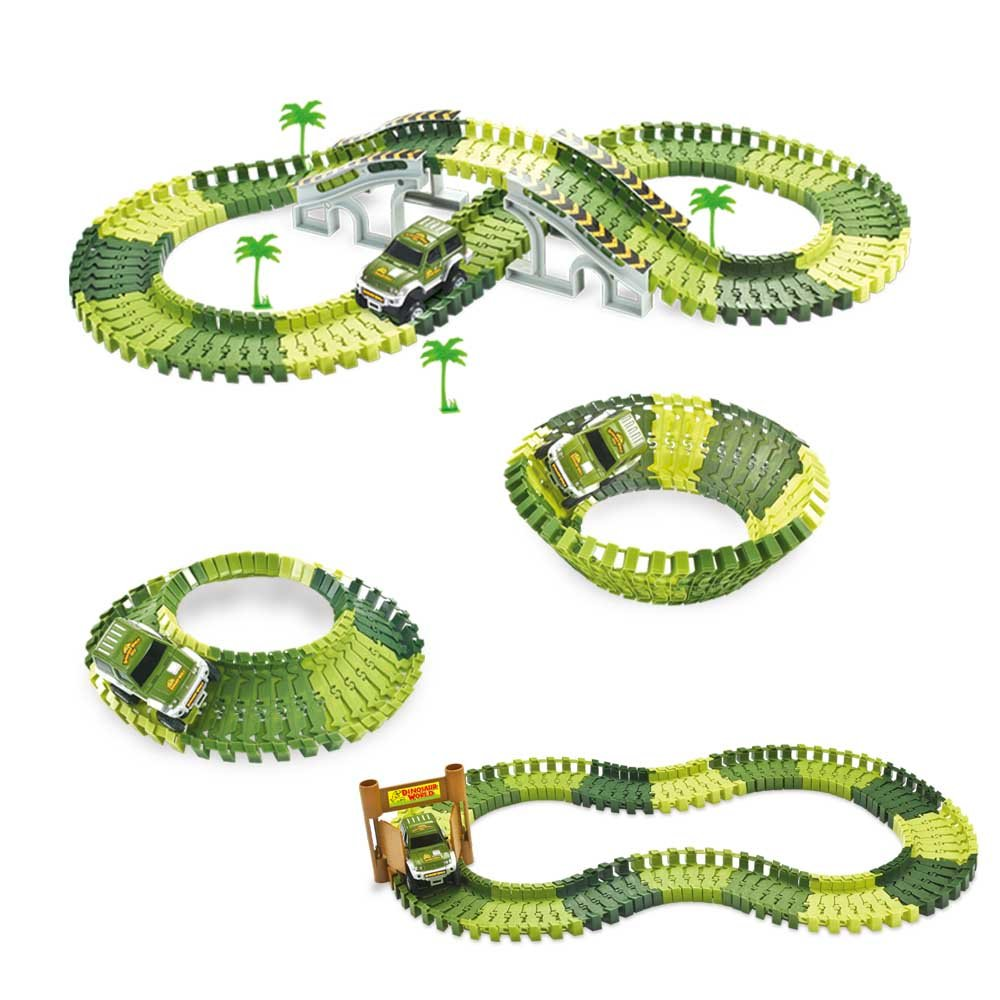 GAMZOO Race Car Tracks Toy Set for Boys 2,3,4 Years Olds Christmas ...