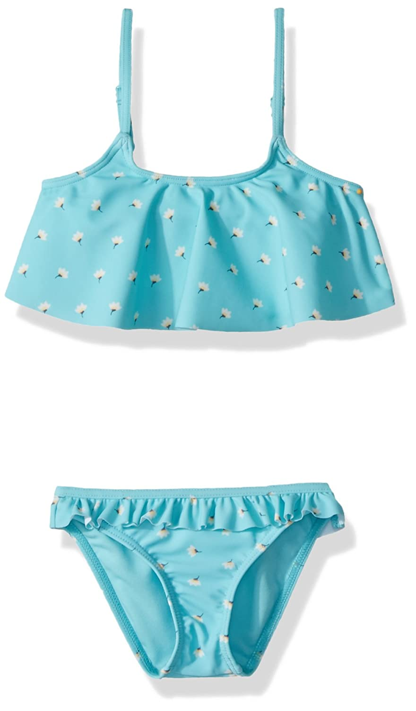 3fbe33efed9d Amazon.com: Roxy Little Girls' Saguaro Flutter Top Swimsuit Set: Clothing